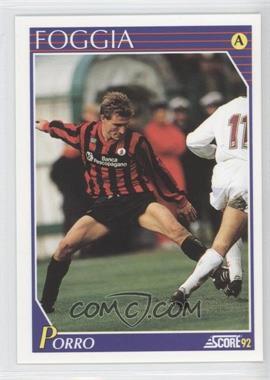 1991-92 Score Italian - [Base] #104 - Alessandro Porro