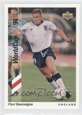 1993 Upper Deck World Cup 94 Preview English/Spanish - [Base] - Promo #WC-P5 - Paul Gascoigne