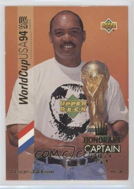 1993 Upper Deck World Cup 94 Preview English/Spanish - Honorary Captain - Gold #HC1 - Reggie Jackson