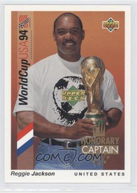 1993 Upper Deck World Cup 94 Preview English/Spanish - Honorary Captain #HC1 - Reggie Jackson