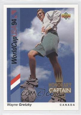 1993 Upper Deck World Cup 94 Preview English/Spanish - Honorary Captain #HC4 - Wayne Gretzky