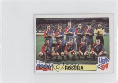 1994 Panini World Cup Album Stickers - [Base] - Carvajal Mundial de Futbol #124 - Rossija