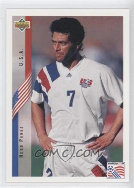 1994 Upper Deck World Cup English/Spanish - [Base] #10 - Hugo Perez