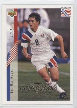 1994 Upper Deck World Cup English/Spanish - [Base] #24 - Joe-Max Moore