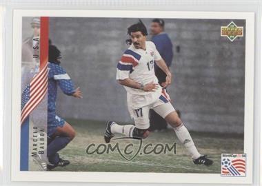 1994 Upper Deck World Cup English/Spanish - [Base] #3 - Marcelo Balboa