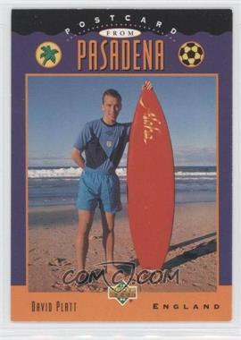 1994 Upper Deck World Cup English/Spanish - [Base] #304 - David Platt