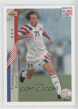1994 Upper Deck World Cup English/Spanish - [Base] #4 - Fernando Clavijo