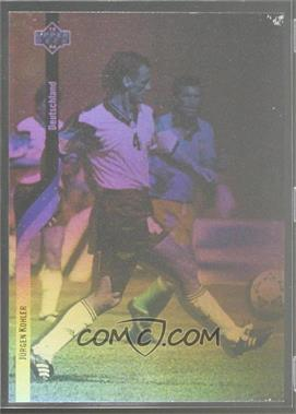 1994 Upper Deck World Cup English/Spanish - German Holograms #D3 - Jurgen Kohler