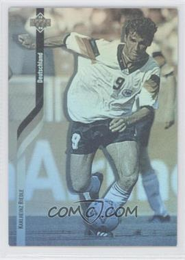 1994 Upper Deck World Cup English/Spanish - German Holograms #D5 - Karlheinz Riedle