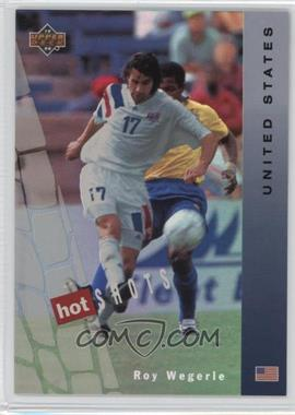 1994 Upper Deck World Cup English/Spanish - Hot Shots #HS9 - Roy Wegerle