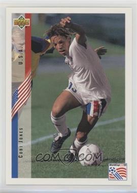 1994 Upper Deck World Cup English/Spanish - Promos #PR2 - Cobi Jones