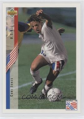 1994 Upper Deck World Cup English/Spanish - Promos #PR2 - Cobi Jones