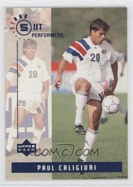 1994 Upper Deck World Cup English/Spanish - Standout Performers #S2 - Paul Caligiuri