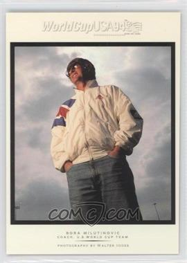 1994 Upper Deck World Cup English/Spanish - Walter Ioss Portraits #WI2 - Bora Milutinovic