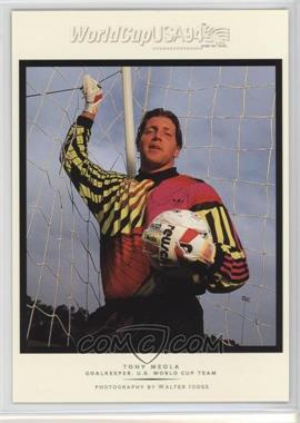 1994 Upper Deck World Cup English/Spanish - Walter Ioss Portraits #WI6 - Tony Meola