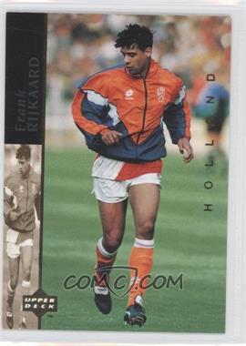 1994 Upper Deck World Cup English/Spanish - World Cup Superstars #5 - Frank Rijkaard