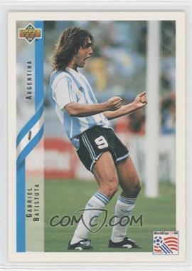 43e99cb0590 1994 Upper Deck World Cup Spanish -  Base   255 - Gabriel Batistuta