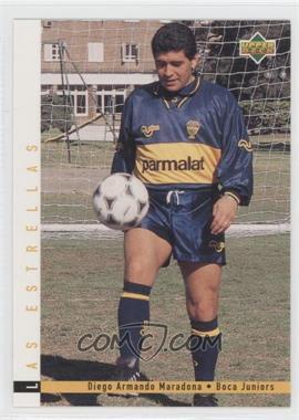 1995 Upper Deck Futbol Argentino Base 165 Diego Maradona