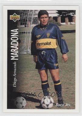 1995 Upper Deck Futbol Argentino - [Base] #9 - Diego Maradona