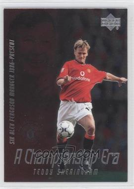 2002 Upper Deck Manchester United Legends - A Championship Era #CE10 - Teddy Sheringham