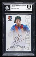 Autografo - Lionel Messi [BGS 8.5 NM‑MT+]