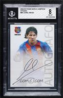 Autografo - Lionel Messi [BGS 8 NM‑MT]