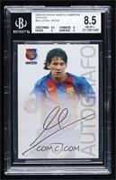 Autografo - Lionel Messi [BGS8.5NM‑MT+]