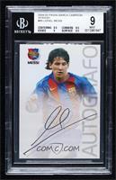 Autografo - Lionel Messi [BGS9MINT]