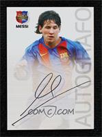 Autografo - Lionel Messi