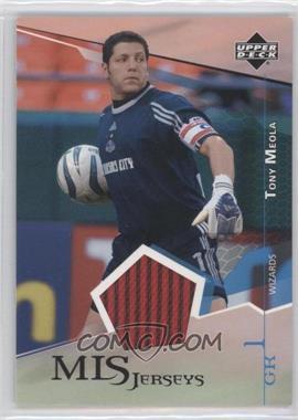 2004 Upper Deck MLS - Jerseys #TM-J - Tony Meola