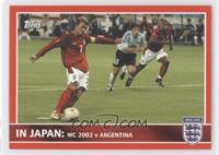 In Japan: WC 2002 v Argentina