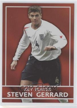 2005 Topps England - Key Players #S6 - Steven Gerrard