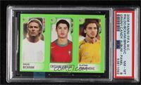 David Beckham, Cristiano Ronaldo, Zlatan Ibrahimovic [PSA8NM‑…