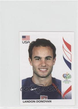 2006 Panini World Cup Album Stickers - [Base] #355 - Landon Donovan