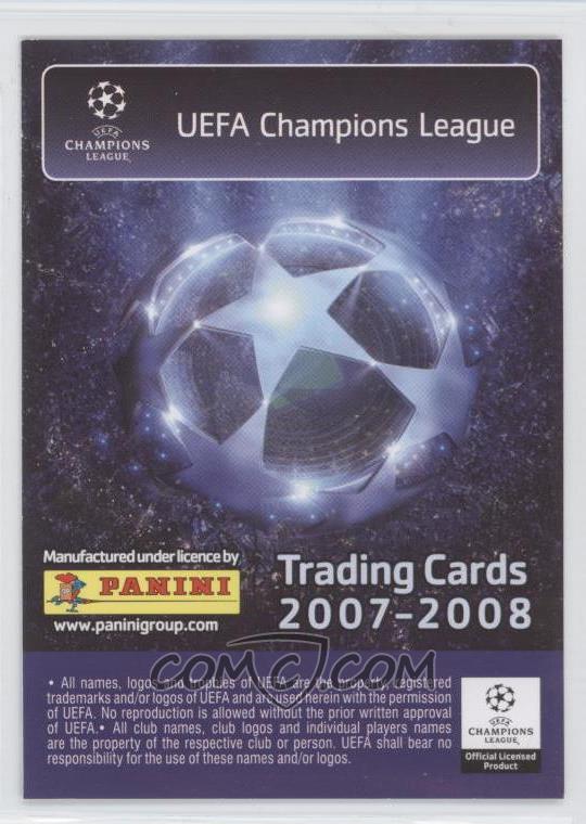 3d834149fe2 2007-08 Panini UEFA Champions League - [Base] #7 - Petr Cech