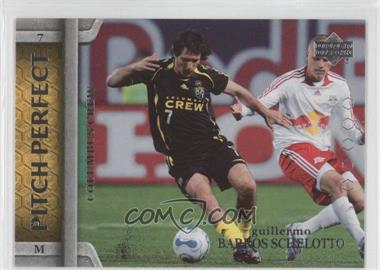 2007 Upper Deck MLS - Pitch Perfect #PP14 - Guillermo Barros Schelotto