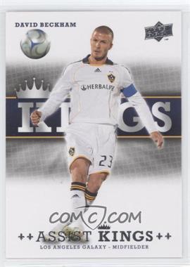 2008 Upper Deck MLS - Assist Kings #AK-12 - David Beckham