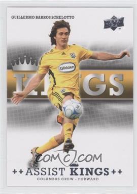 2008 Upper Deck MLS - Assist Kings #AK-3 - Guillermo Barros Schelotto