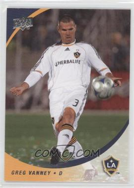 2008 Upper Deck MLS - [Base] #153 - Greg Vanney