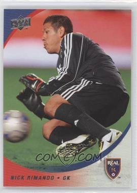 2008 Upper Deck MLS - [Base] #82 - Nick Rimando