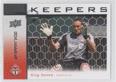 2008 Upper Deck MLS - Goal Keepers #KP-15 - Greg Sutton