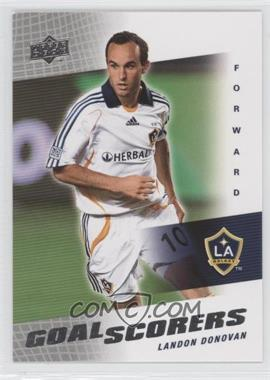 2008 Upper Deck MLS - Goal Scorers #GS-19 - Landon Donovan