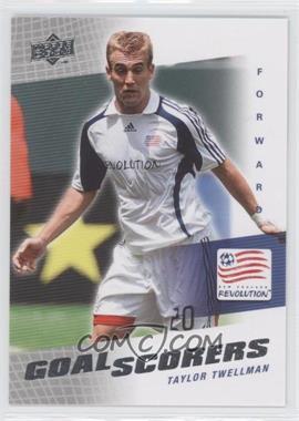 2008 Upper Deck MLS - Goal Scorers #GS-22 - Taylor Twellman
