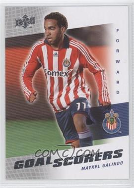 2008 Upper Deck MLS - Goal Scorers #GS-5 - Maykel Galindo
