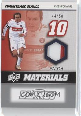 2008 Upper Deck MLS - MLS Materials - Patch #MM-4 - Cuauhtemoc Blanco /50