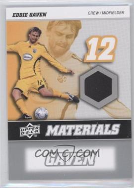 2008 Upper Deck MLS - MLS Materials #MM-10 - Eddie Gaven