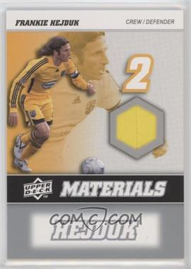 2008 Upper Deck MLS - MLS Materials #MM-11 - Frankie Hejduk