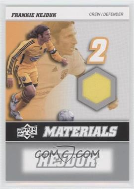 2008 Upper Deck MLS - MLS Materials #MM-11 - Frankie Hejduk
