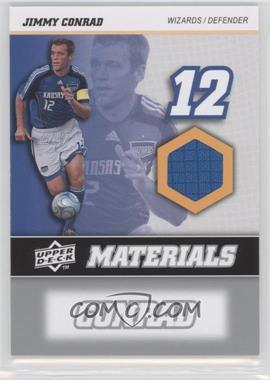 2008 Upper Deck MLS - MLS Materials #MM-13 - Jimmy Conrad