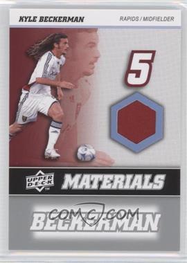 2008 Upper Deck MLS - MLS Materials #MM-16 - Kyle Beckerman